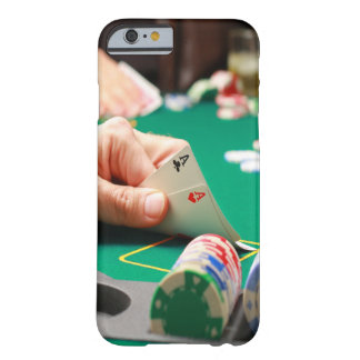 """""""Texas Hold-em"""" Poker """"Pocket Aces"""" Barely There iPhone 6 Case"""