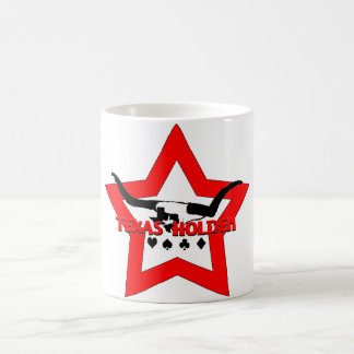 Texas Holdem Longhorns Basic White Mug