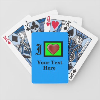"""Texas Holdem"" Party Bay Bicycle Playing Cards"