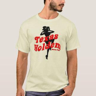 Texas Holdem Pinup Girl T-Shirt