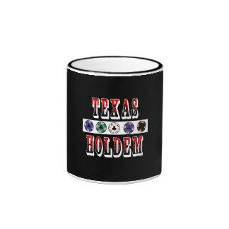 Texas Holdem Ringer Mug