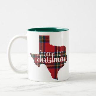 Texas - Home for Christmas Mug