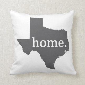 Texas home. Pillow