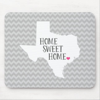 Texas Home State Chevron Mouse Pad