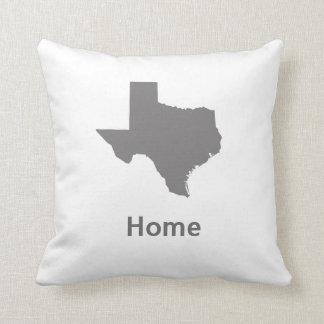 Texas Home Throw Pillow