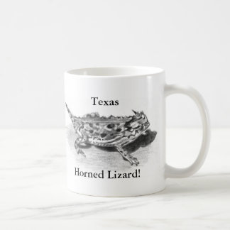 Texas Horned Lizard, Horny Toad Coffee Mug