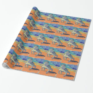 Texas Horny Toad Wrapping Paper