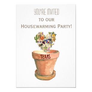 Texas Housewarming Party Invitation