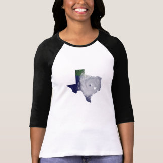 Texas hurricane map T-Shirt