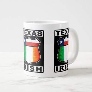 Texas Irish American Cup 20 Oz Large Ceramic Coffee Mug