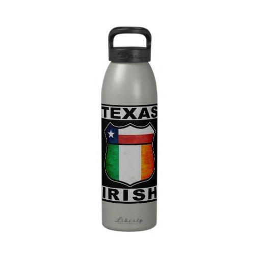 Texas Irish American Drinking Bottles