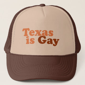 Texas is gay trucker hat