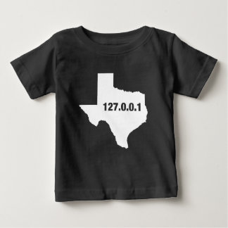 Texas Is Home Programmer Baby T-Shirt