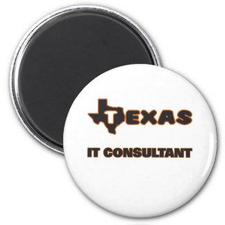 Texas It Consultant 2 Inch Round Magnet