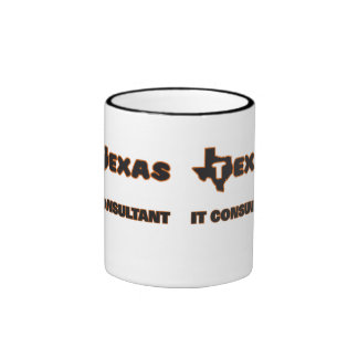 Texas It Consultant Ringer Coffee Mug