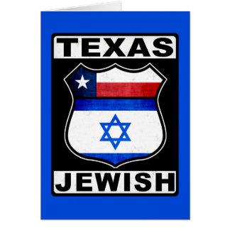 Texas Jewish American Card
