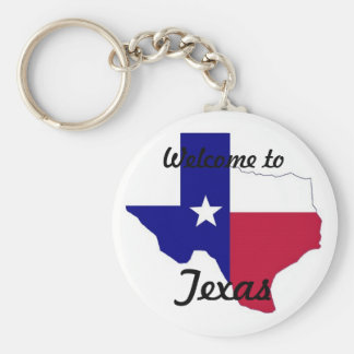 Texas Keychian Key Ring