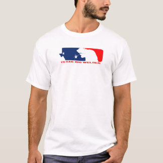 "Texas ""League Series"" Rig Welder T-Shirt"