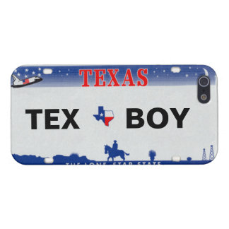 Texas License Plate Personalized Iphone 5 Case
