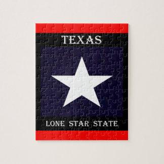 Texas Lone Star Jigsaw Puzzle
