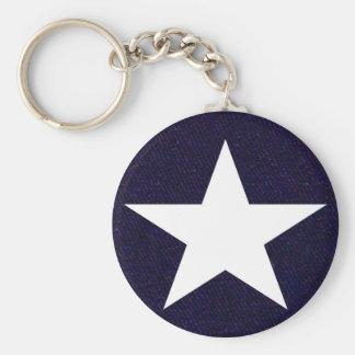 Texas Lone Star Key Ring