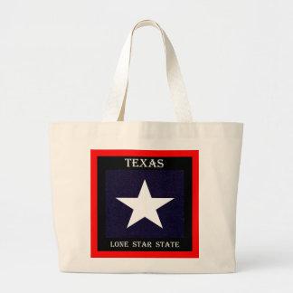Texas Lone Star Large Tote Bag