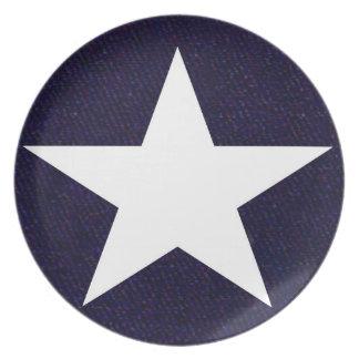 Texas Lone Star Plate