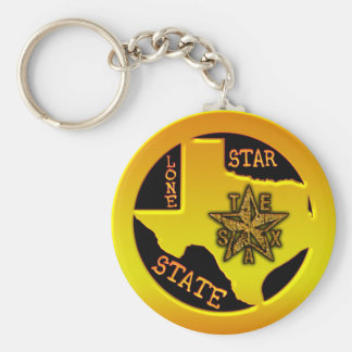 Texas Lone Star State Key Ring