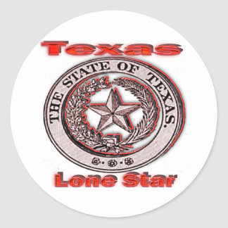 Texas Lone Star State Seal