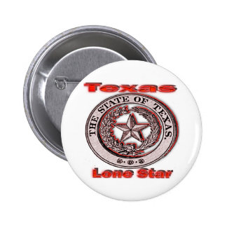 Texas Lone Star State Seal Pin