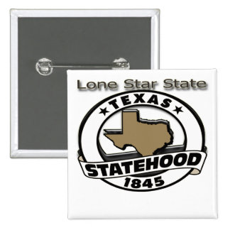 Texas Lone Star Statehood Buttons
