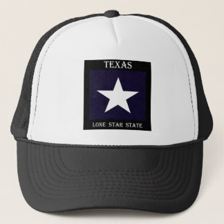 Texas Lone Star Trucker Hat