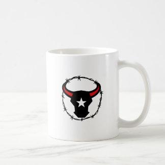 Texas Longhorn Barbed Wire Icon Coffee Mug