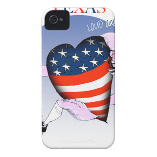 texas loud and proud, tony fernandes Case-Mate iPhone 4 cases