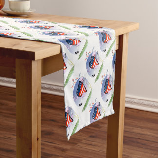 texas loud and proud, tony fernandes short table runner