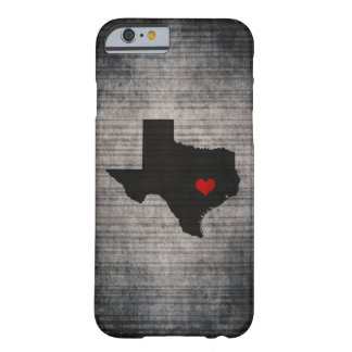 Texas Love Barely There iPhone 6 Case
