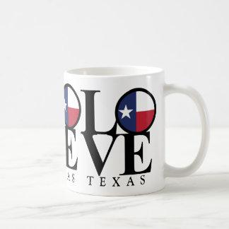 Texas LOVE Coffee Mug 15oz