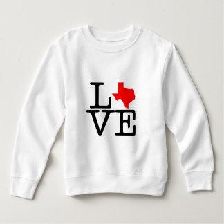 Texas Love Fleece Toddler Sweatshirt
