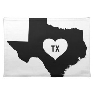 Texas Love Placemat