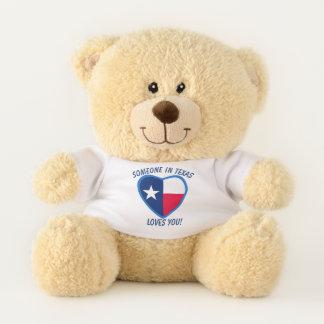 Texas Loves You Teddy Bear