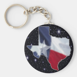 Texas Map Key Ring