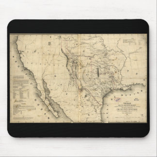 Texas Map Mousepad