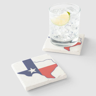 TEXAS MAP STONE COASTER