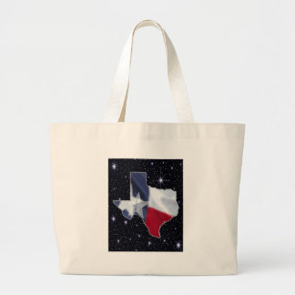 Texas Map Jumbo Tote Bag