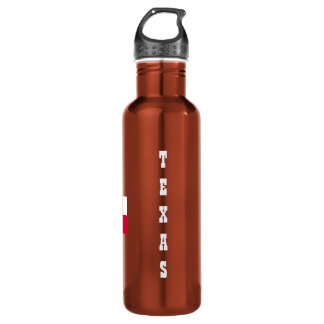 TEXAS-No place like home-Texas Flag 710 Ml Water Bottle