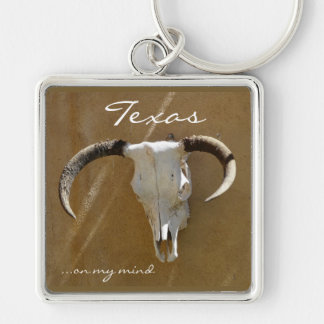 Texas on my mind/Longhorn Skull Key Ring