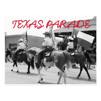 Texas Parade Post card