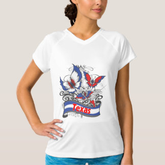 Texas Patriotism Butterfly T-Shirt