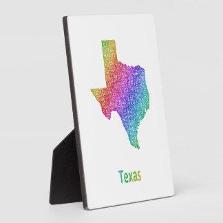 Texas Plaque