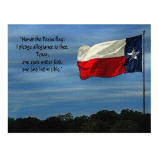 Texas Pledge Post Card